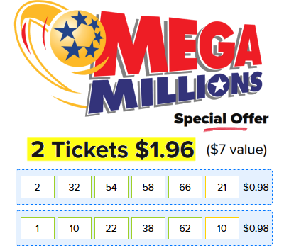 Lotto Go Megamillions Powerball Lottery Ticket